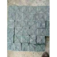 China Natural Exterior G684 Granite Paving Stones , Granite Stepping Stones factory