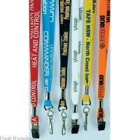 China Eco customized promtion Lanyards with metal hook and PVC card low MOQ factory