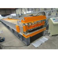 Buy cheap 0.6-0.9MM Cold Rolled Roof Sheet Profile Roll Forming Machine Motor Power 7.5KW from Wholesalers
