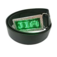Buy cheap Scrolling message display led belt buckle from Wholesalers