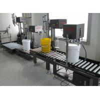Buy cheap FM-SW/20L single nozzle weight semi automatic liquid filling machine from Wholesalers