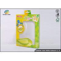 Buy cheap Green / Yellow Foldable Gift Boxes Eco Friendly PVC Window For Children Bowl from Wholesalers