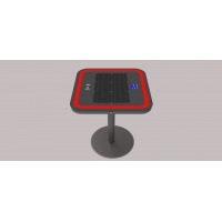 China LCD Display 30W LiFePO4 20Ah Solar Phone Charger Table factory