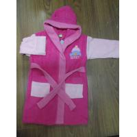 soft cotton fabric hooded girl Bath Robes