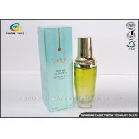 Buy cheap Personalized Cosmetic Paper Packing Boxes For Perfume / Skincare Cream from Wholesalers