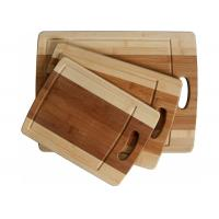 Buy cheap Stylish Design Bamboo Butcher Block Cutting Board With Juice Groove And Handle from Wholesalers