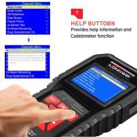 Buy cheap Colorful Screen Auto Diagnostic Fault Code Reader Tool KW850 OBD2 Original Car Diagnostic Scanner from Wholesalers