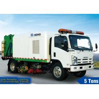 China Washing Road Sweeper Truck factory