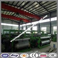 China 24x110 mesh 2 mtr Stainless Steel Wire Mesh Weaving Machine factory