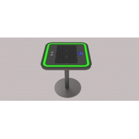 China Embedded Light LiFePO4 30W 20Ah Wireless Charging Coffee Table factory