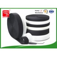 Buy cheap Grade A Heavy duty fabric hook and loop fasteners 100% nylon black and white from Wholesalers