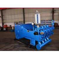 Buy cheap Horsepower 500 KW Horizontal Four Cylinder Triplex Mud Pump for Oilfield Industry from Wholesalers