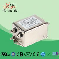China 10A Single Phase AC Power Line Filter For Electromagnetic Interference factory