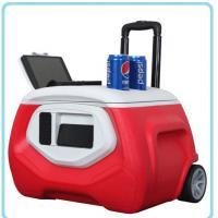 Quality 40cans 28L MP3 bluetooth wireless music Outdoor Cooler Box for sale