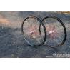 Unique Tireless Carbon MTB Rims 26 Inch Bicycle Wheels With Suspension Loop
