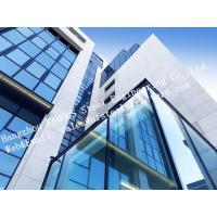 Buy cheap Aluminum Exterior Double Glass Facade Curtain Wall Insulation Building System from Wholesalers