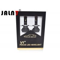 Buy cheap Black 30W Automotive Led Car Headlight Bulbs For H1 H4 H7 9005 9006 from Wholesalers