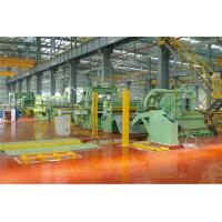China Automatic Clamping Steel Coil Slitting Machine φ508 φ610 φ760mm Non Contact Braking factory