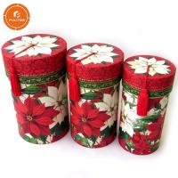 Buy cheap Custom Cylinder Paper Gift Packaging Box , Excellent Gift Tube Box from wholesalers