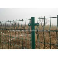 China Soft Iron Garden Triangle Fence Panel Waterproof Easily Assembled Corrosion Resistant on sale