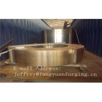 China Hot Forged Rolled Rings / Stainless Steel Sleeve DIN Standard 1.4401 factory