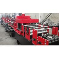 Quality Automated Changeable C Z Purlin Roll Forming Machine For 100-300 Mm Width for sale
