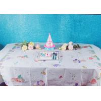 China Unicorn Party Biodegradable Disposable Paper Tablecloth For Children Birthday Decoration factory