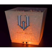 Buy cheap 12L LED Glow Ice Buckets plastic cooler box from Wholesalers