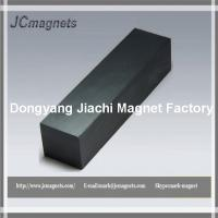 China Ceramic Magnets C8 4X1X1 Hard Ferrite Permanent Magnets 10-Count factory