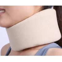 China adjustable comfortable soft foam white adjustable cervical collar factory