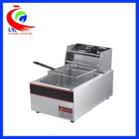 Buy cheap Automatic KFC Commercial Electric Tabletop Deep Fryer Stainless Steel One Tank from Wholesalers