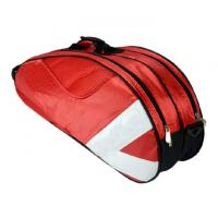 Buy cheap Oxford Fabric Materials Badminton Racket Bag Accommodate 3 - 6 Badminton Racket from wholesalers