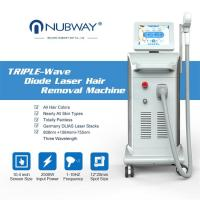 China Nubway hot sale 808nm 1064nm 755nm laser hair removal machine 800W Germany imported bars laser diode 808 hair removal on sale