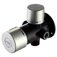 """China Solar Thermostatic Mixing Valve A6 1/2"""" Brass For Electrical Water Heaters KSTP factory"""