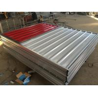 Buy cheap Construction Site Temporary Steel Hoarding Fence Panel from Wholesalers