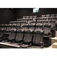 China Customized Environmental 4D Cinema Equipment / Electric 4D Motion Seats factory