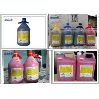 China Digital Printing Spectra Polaris Ink , Flora Konica 512 Solvent Based Ink factory