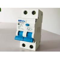 China Residual Current RCBO Breaker Overload Protection Plug In Type NBSM6-63LM C63 on sale