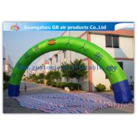 Buy cheap Promotion Semicircle Inflatable Start Finish Arch 9m Span Customized Size from Wholesalers