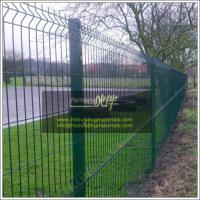 Anping suppliers, PVC Coated Welded Wire Mesh Fence, Vinyl Coated Garden fence
