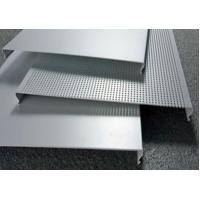 Buy cheap C100 Bevelled Edges Perforated Aluminum Ceiling Panels RAL Colors from wholesalers