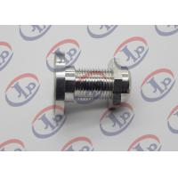 CNC Finishing Milling Metal Machined Parts 7075 T6 Aluminum Bolts And Nuts for sale