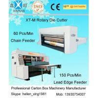 China Corrugated Carton Box Rotary Die-Cutting Machine For Colorful Cartons / Boxes factory