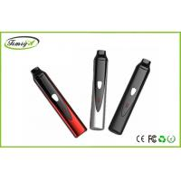China Dry Herb E Cig , 2200mah Herbal Titan Vaporizer With Three Fahrenheit Degrees Adjustable and Black Color factory