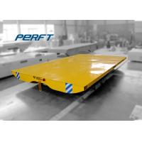 Buy cheap Industrial motorized transfer trolleys on track for transporting steel from Wholesalers
