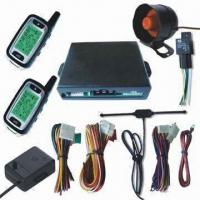 China FM Car Alarm System with Remote Engine Start and Arming Reminding Functions factory