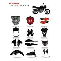 Buy cheap CG150 Titan Nueva Motorbike Accessories New Material With ISO900 Certification from wholesalers