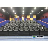 China Exciting Simulating Luxury Cabin Box 5D Cinema System With Fiber Glass Material factory