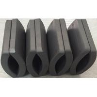 China Customized Permanent Big Ferrite Arc Magnet For Air Pump 52.12*50.18*7.27 mm factory