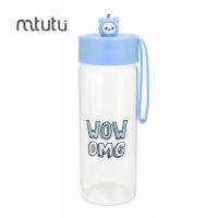China Transparent 236g 380ml Personalised Glass Drink water Bottles factory